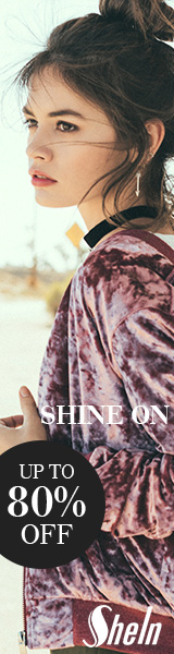 Shine On Sale!  Items up to 80% off at SheIn.com! Ends 11/28
