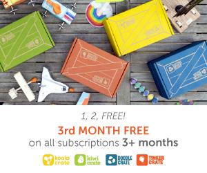 Kiwi Crate 1, 2, Free Sale