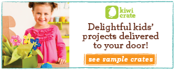Delightful kids' crafts delivered to your door!  See sample crates>>