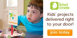 Kids' projects delivered right to your door! <Visit Kiwi Crate>