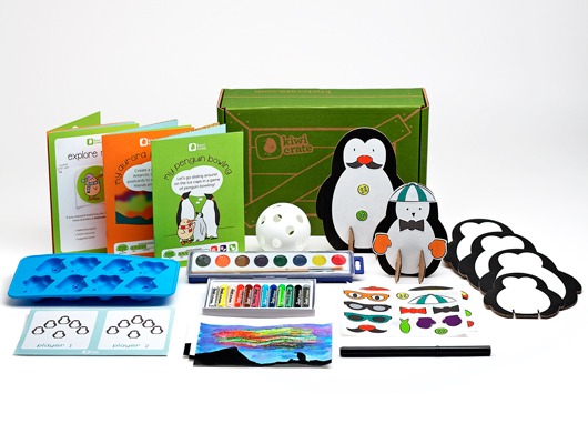 Delightful kids' crafts delivered right to your door.  Shop Kiwi Crate! ››