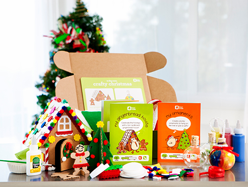 Give the Gift of Creative Fun! Shop Kiwi Crate for holiday craft projects for kids ages 3-7 ››