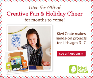 Kiwi Crate makes hands-on creative projects for kids! shop ››