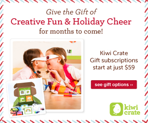 Give the gift of Creative Fun! See Kiwi Crate Gift Options››