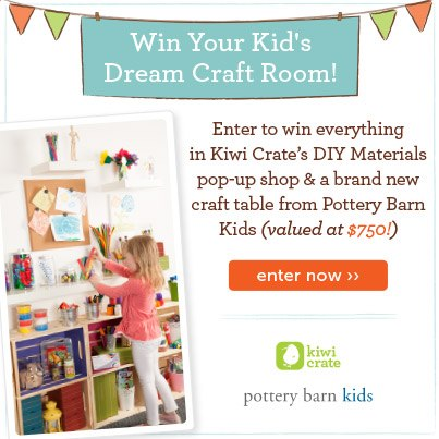 Enter to win $750 in prizes from Pottery Barn Kids + Kiwi Crate! ››