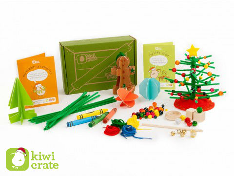 Get festive with Kiwi Crate's Holiday Creativity Kits! shop now ››