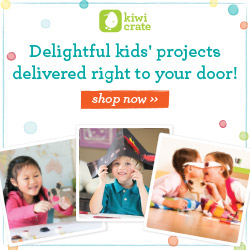 Kiwi Crate makes a great gift for kids ages 3-7!