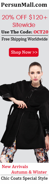 Quilted Diamond PU Stitching Zipper Detailed Black Coat