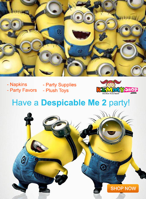 Shop The Minions birthday party supplies