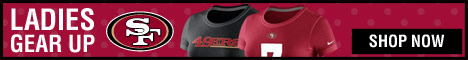 Shop Ladies gear at the official online store of the San Francisco 49ers!