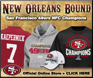 Shop 2012 NFC Conference Champions Gear at the official online store of the San Francisco 49ers!