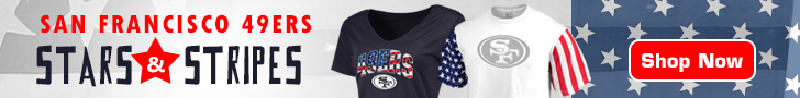 Salute The Flag With 49ers Stars & Stripes Gear!