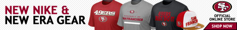Shop for Officially Licensed San Francisco 49ers Team Gear at Shop49ers.com