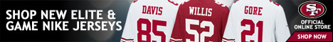 Pre-Order your 2012 Nike 49ers Jerseys at Shop49ers.com