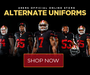 Shop 49ers New Game Day Gear!