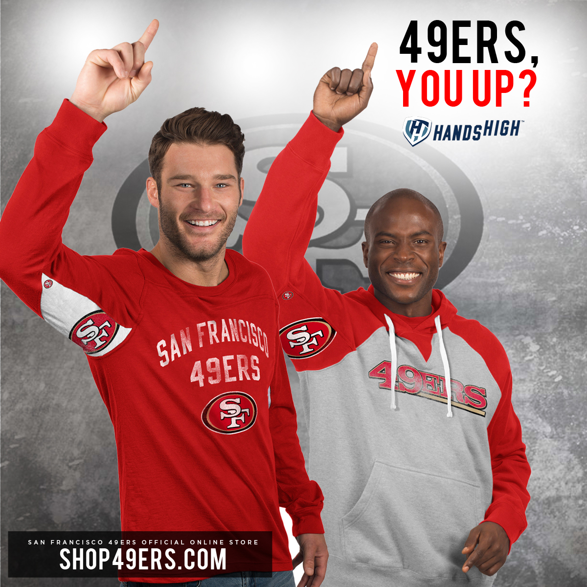 New Hands High 49ers Gear!