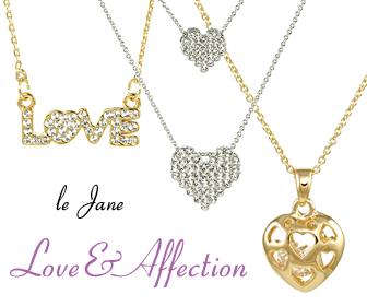 Heart Necklace at le Jane
