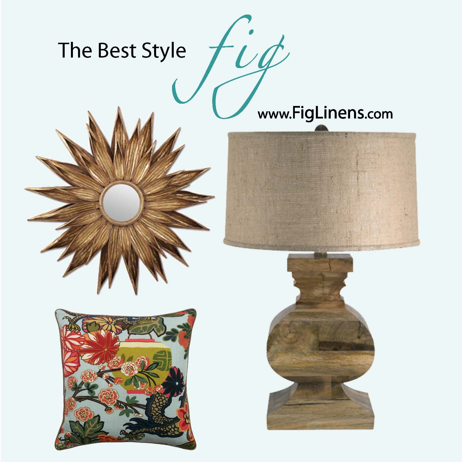 The Best Style and Service... at FigLinens.com