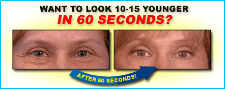 Want To Look Younger In 60 Seconds?