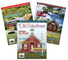 The Old Schoolhouse magazine Back Issue Bundle