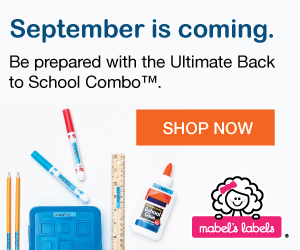 300x250 BTSAd Mabels Labels | Ultimate Back To School Combo for $42.00, Shipped