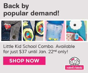 Mabel's Labels Little Kid School Combo