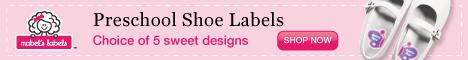 Preschool labels by Mabels Labels
