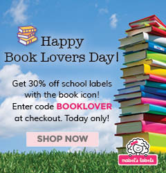 Happy Book Lovers Day Get 30% Off