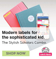 Modern Labels for the sophisticated kid