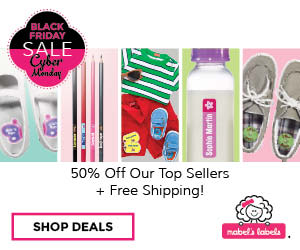 Get 50% Off Top Sellers and Free Shipping at Mabel's Labels
