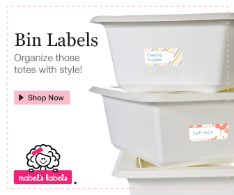 New Bin Labels from Mable's Labels