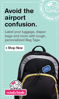 Personalized luggage tags by Mabel's Labels   Gifts for Travelers