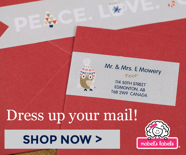 Launched Just On Time: Holiday Products at Mabel's Labels