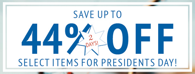 President's Day sales