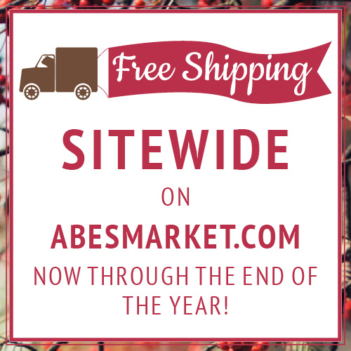 Abe's Market Black Friday 25% Off Sale On Healthy Products