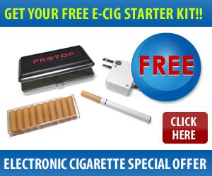 Free E-Cig Starter Kit