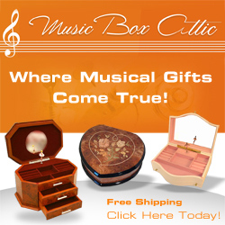 music boxes with free shipping