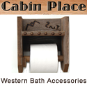 Cabin Place Western Bath Accessories