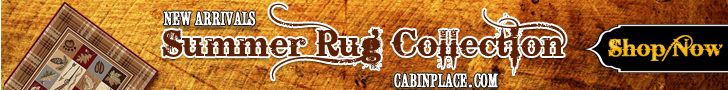Rustic Cabin & Lodge Area Rugs