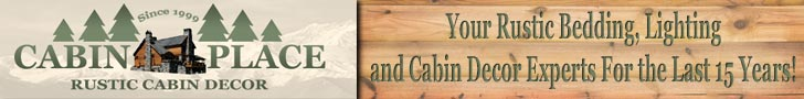 Rustic Bedding, Lighting, & Cabin Decor at CabinPlace.com. Shop Now!
