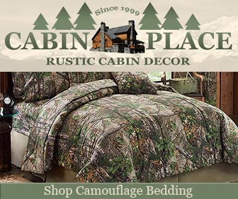 The Cabin Place, Camouflage bedding