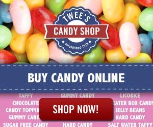 Buy candy online! www.TweesCandyShop.com