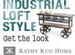 Kathy Kuo Home | Industrial Loft Furniture