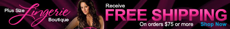 Free Shipping at Plus Size Lingerie Boutique