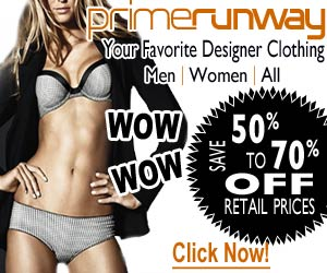 Designer Clothing From PrimeRunway.com