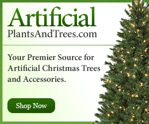 Christmas items at ArtificialPlantsandTrees.com