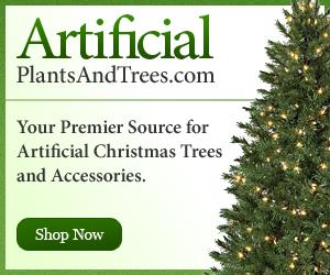 Christmas items at ArtificialPlantsandTrees.com