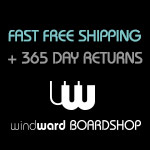 Always Free Shipping at Windward Boardshop