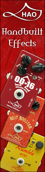 hao handbuilt guitar effects pedals