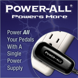 power-all guitar pedal power systems